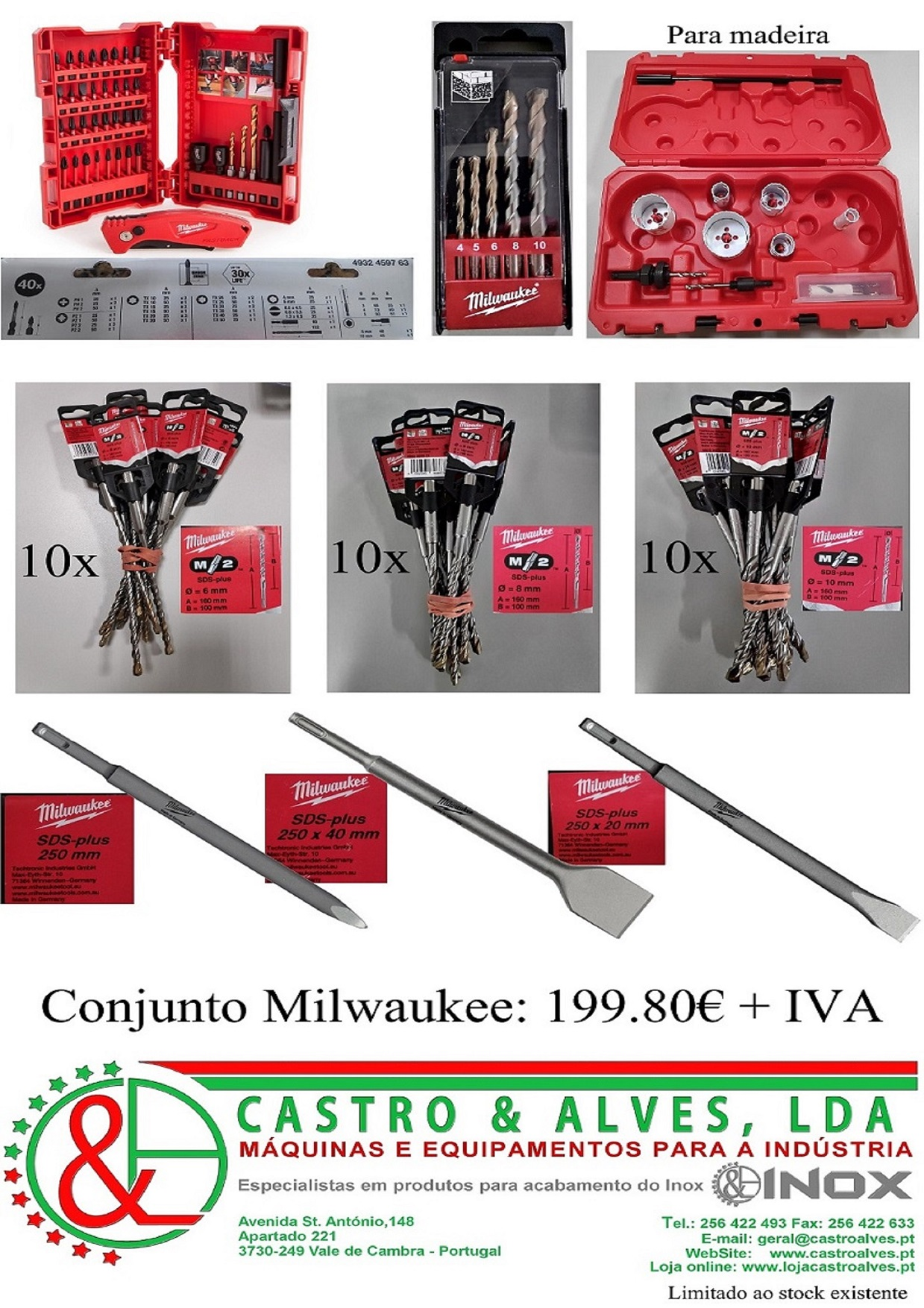 Conjunto Milwaukee