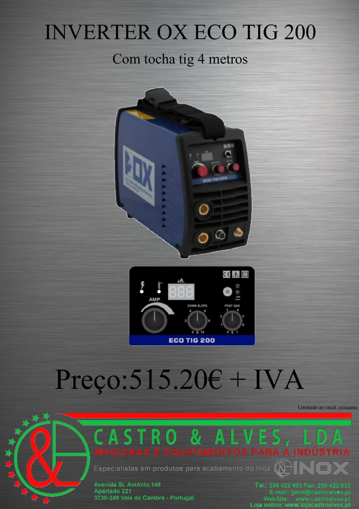 OX ECO TIG 200